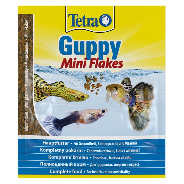 Tetra guppy food sáček 12g
