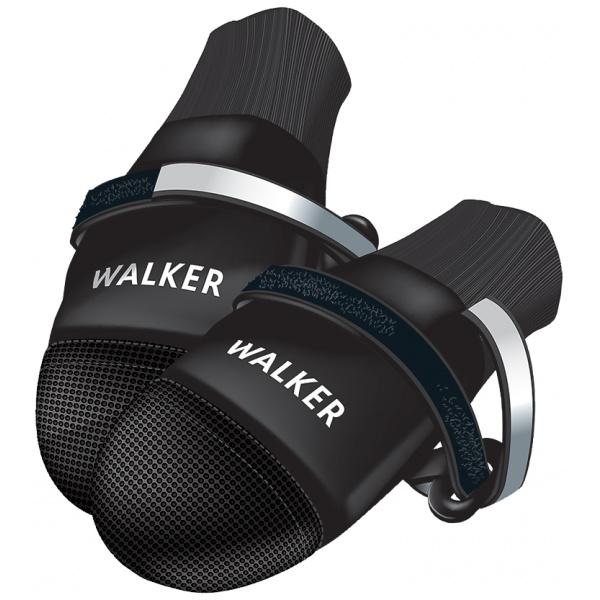 Boty pro psy trixie walker care comfort černé 2ks xxl