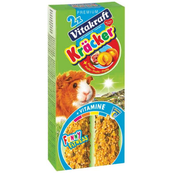 Kracker vitakraft giunea pig fruit 2ks