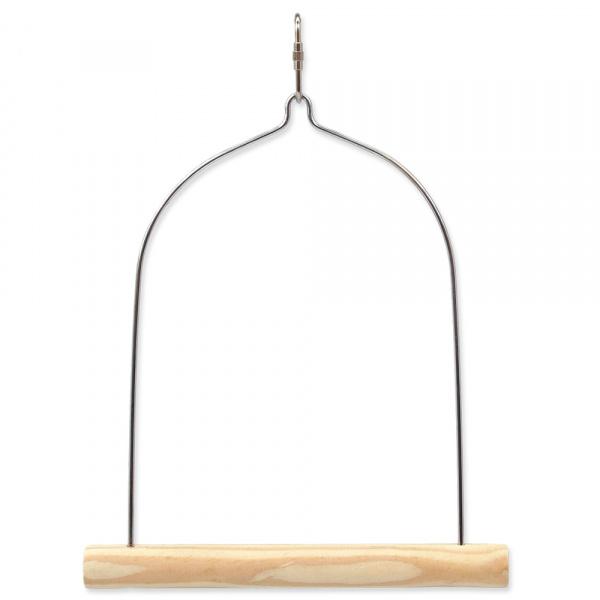 Houpačka bird jewel dřevěná 17x17,5cm