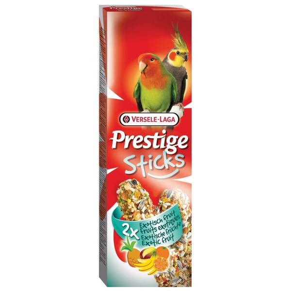 Tyčinky versele-laga prestige exotické ovoce pro střední papoušky 140g