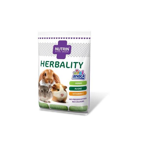 Nutrin vital snack herbality (pro králíky, morčata, činčily a osmáky) 100g