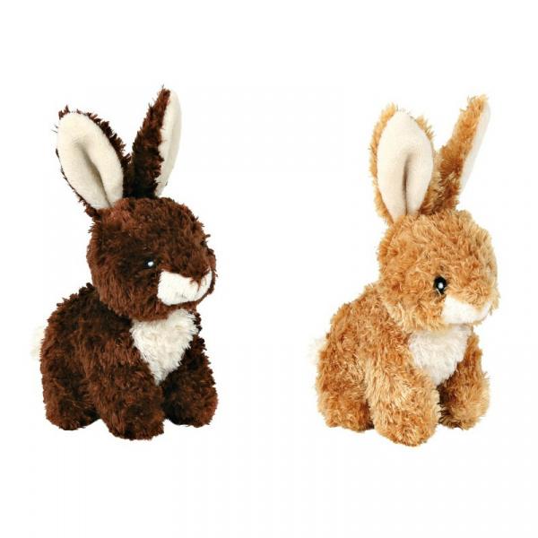Hračka pro psy trixie králík se zvukem 15cm