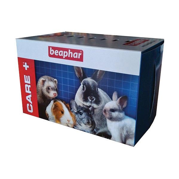 Krabice přenosná BEAPHAR Care+ M pro hlodavce a ptáky