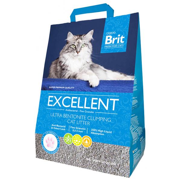 Stelivo brit fresh cats excellent ultra bentonite 10kg