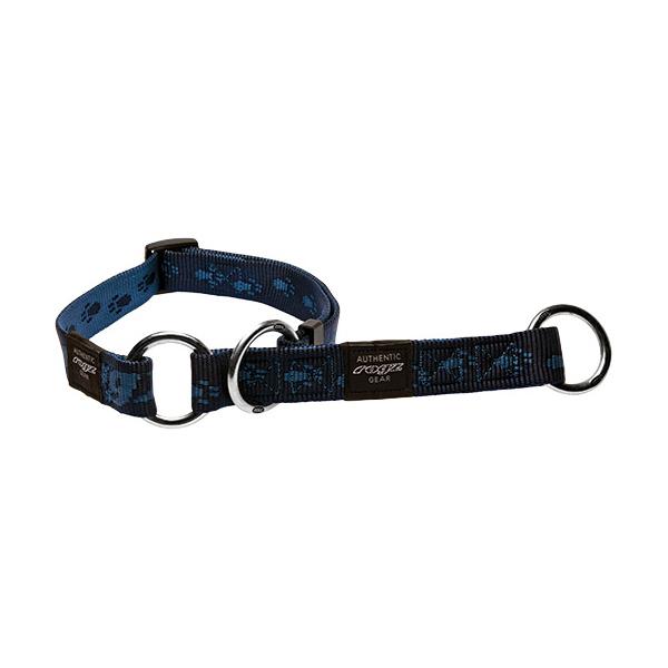 Obojek ROGZ Alpinist polostahovací modrý XL