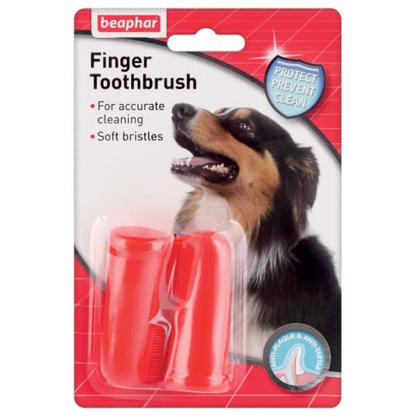 Zubní kartáček na prst beaphar