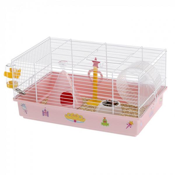 Cage criceti 9 princess white 46x29,5x23cm