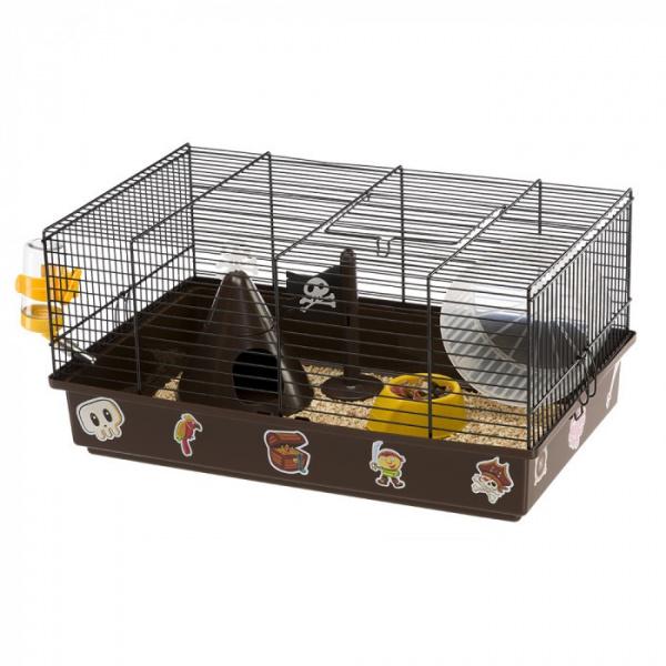 Cage criceti 9 pirate 46x29,5x23cm