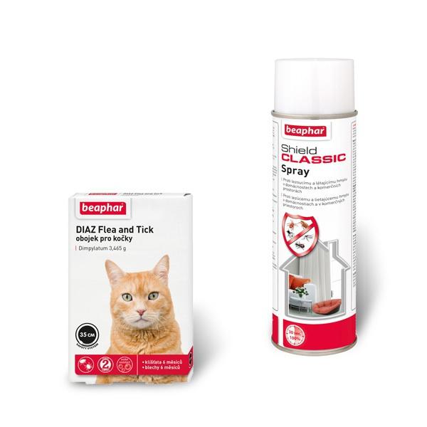 Antiparazitní balíček pro kočky beaphar diaz