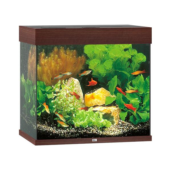 Akvárium Juwel Lido LED 120l tmavě hnědá