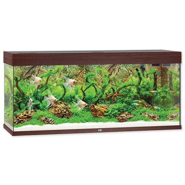 Akvárium Juwel Rio LED 240l tmavě hnědá