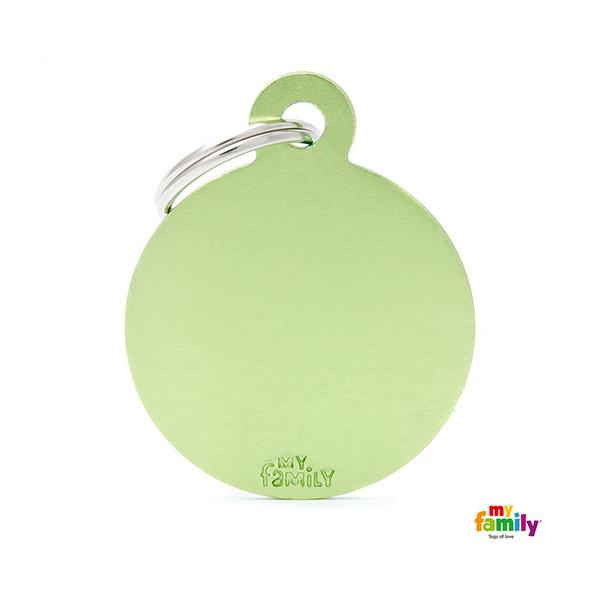 E-shop Známka My Family Basic kolečko velké zelené