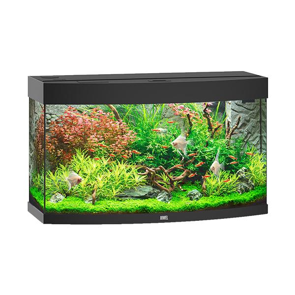 Akvárium set vision 180 led černé 92x55x41cm černé 180l