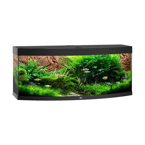 Akvárium set vision led 450 151x61x64cm černé 450l