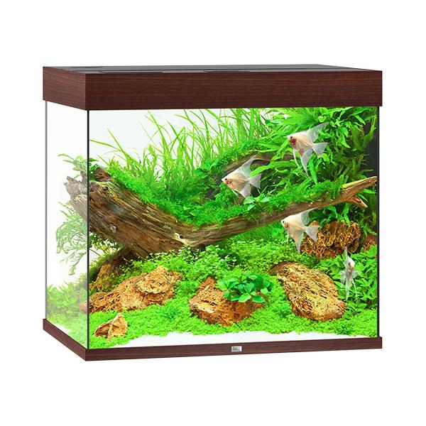 Akvárium Juwel Lido LED 200l tmavě hnědá