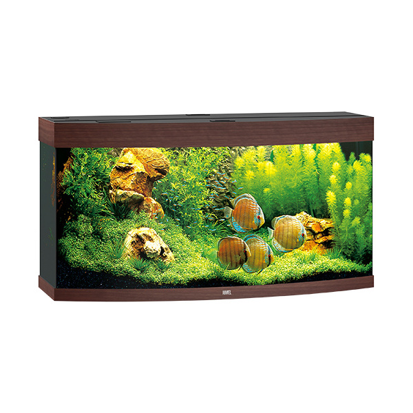 Akvárium set vision led 260 tm.hnědé 121*46*64cm,260l