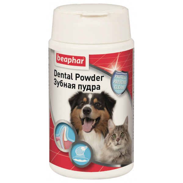 Prášek beaphar dental powder 75 g