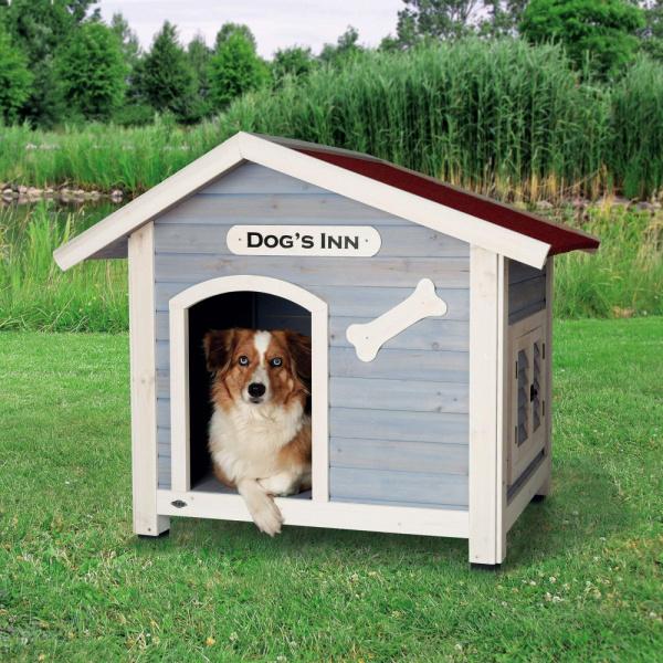 Bouda trixie dogs inn 107x93x90cm svetle modra-bila