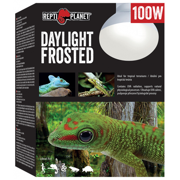 Repti planet žárovka daylight frosted 100w