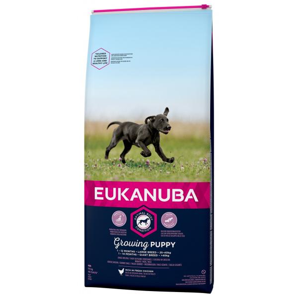 Eukanuba puppy large 2x15kg