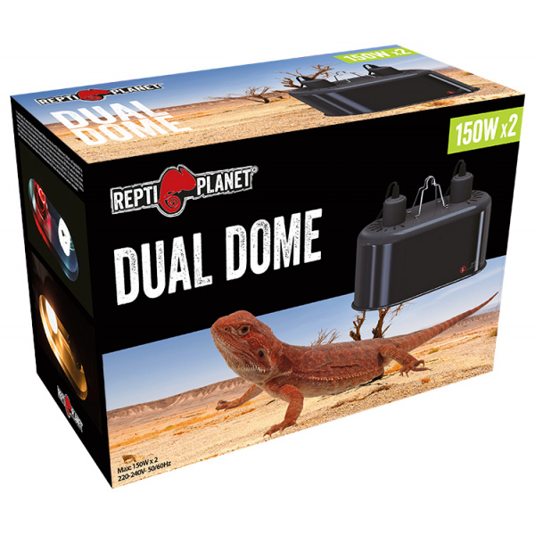 Repti planet osvětlení dual dome 2x150w