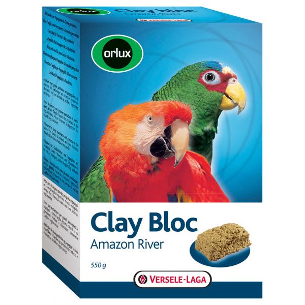 Jílový blok Clay Bloc Amazon River pro větší papoušky 550g