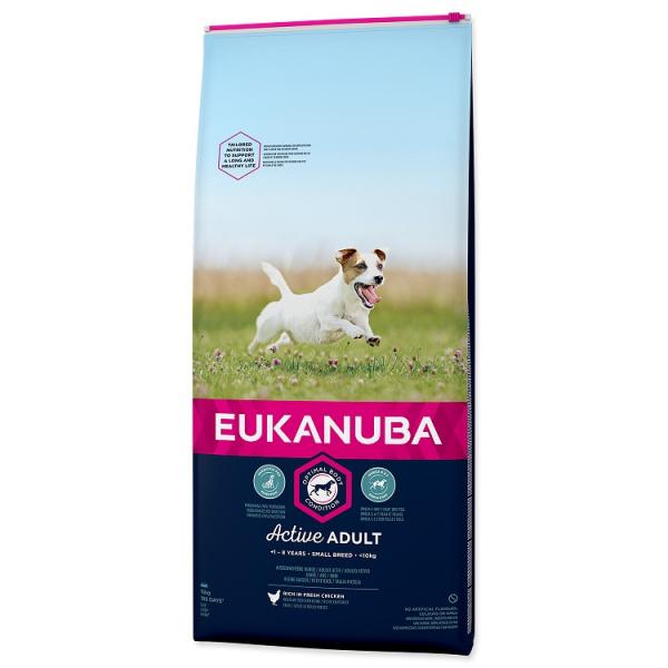 Eukanuba adult small 2x15kg
