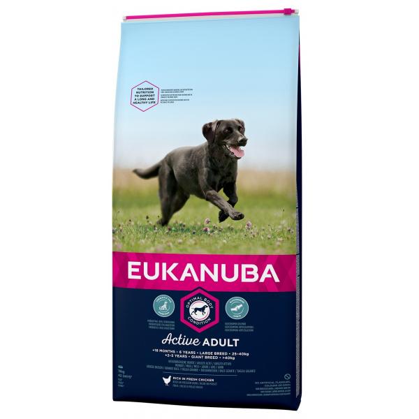 Eukanuba adult large 2x15kg