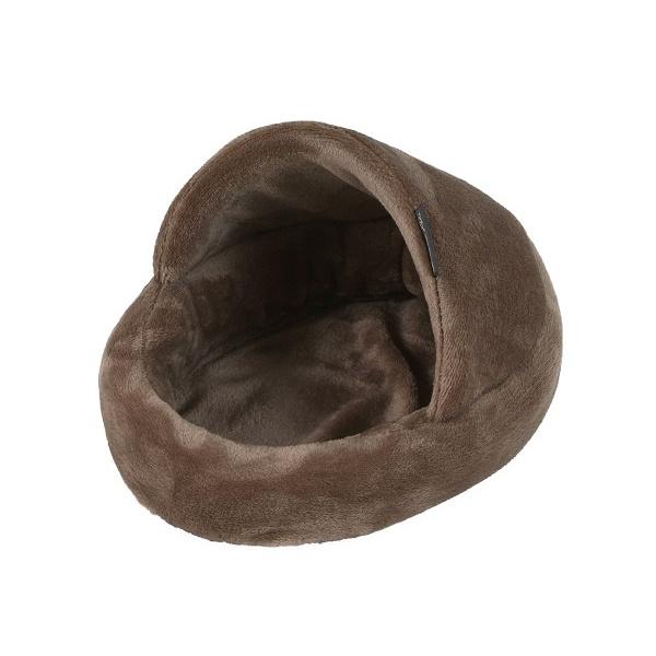 Pelíšek papuče pro hlodavce hnědý