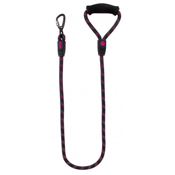 Vodítko active dog sport l růžové 1,3x120cm