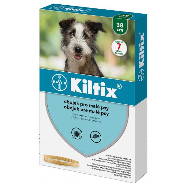 Antiparazitní obojek Kiltix - malý