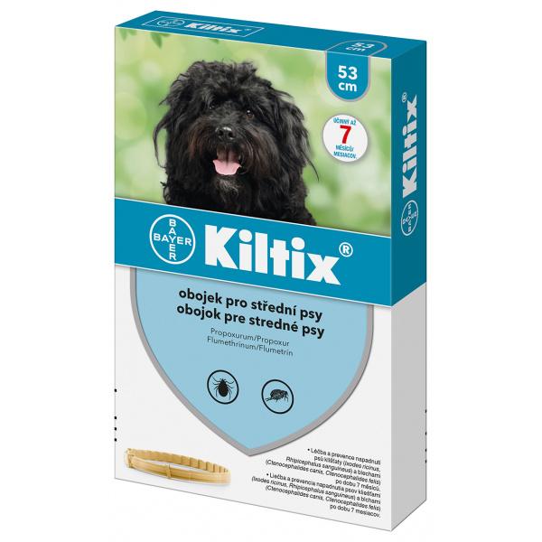 Antiparazitní obojek Kiltix - střední