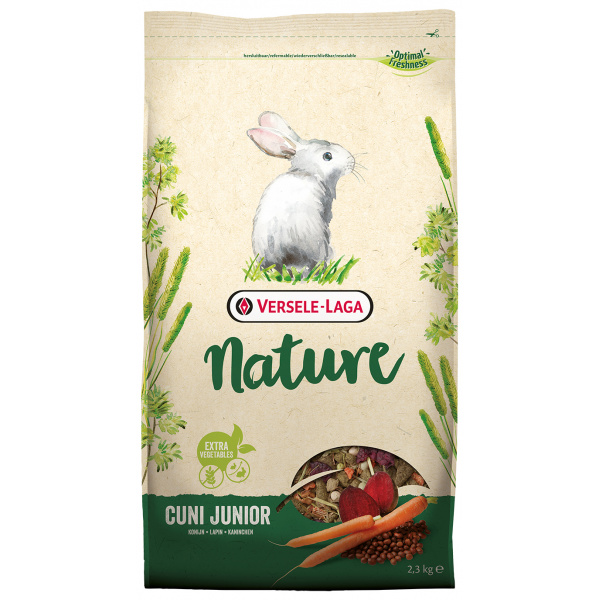 Krmivo nature cuni junior pro králíky 2,3kg