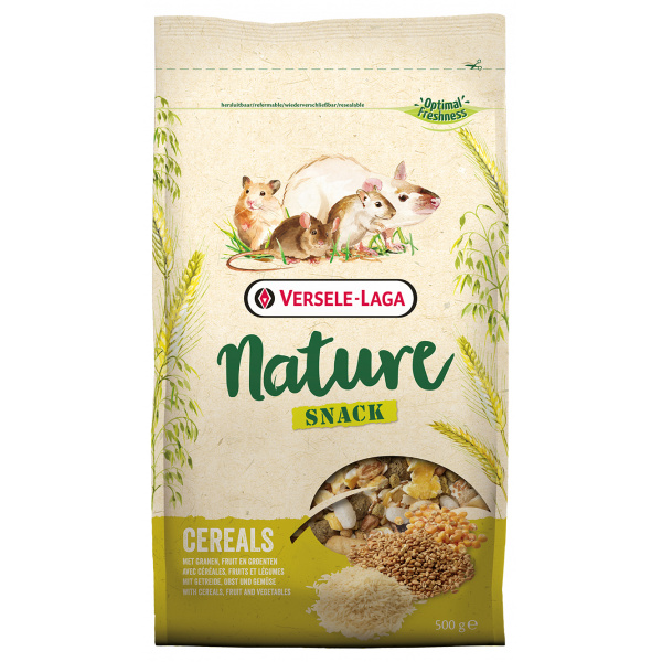 Krmivo nature snack cereals 500g