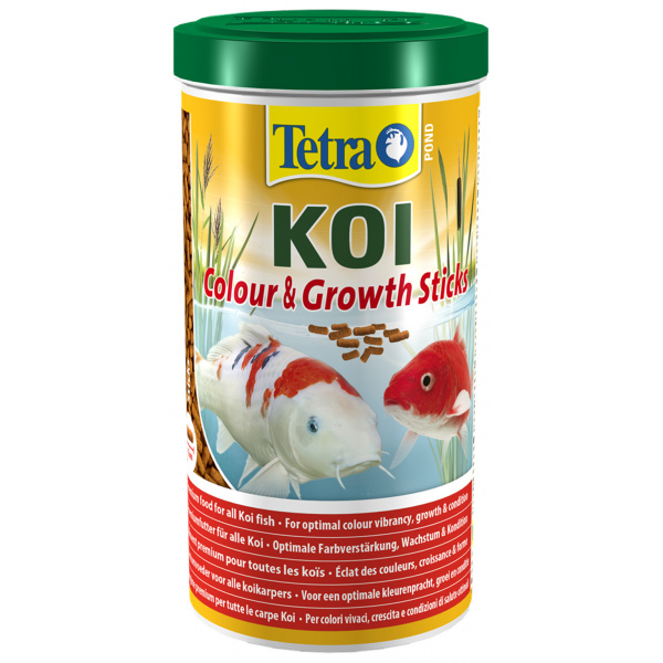 Tetra pond koi sticks growth&color 1l