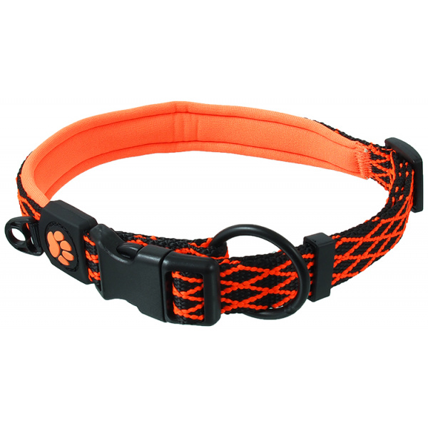 Obojek Active Dog Mystic XL oranžový 2,5x63-70cm