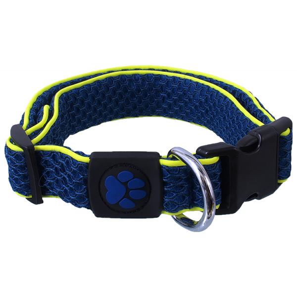 Obojek Active Dog Mellow L tm. modrý 3,2x42-67cm