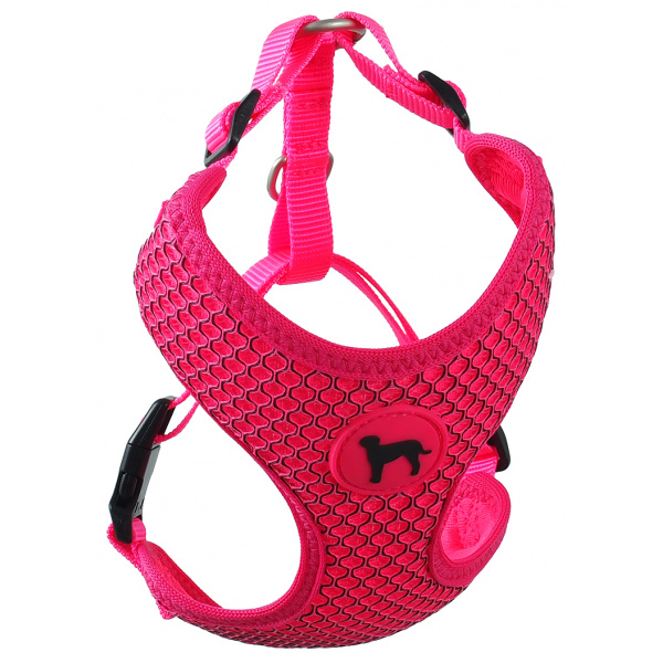 E-shop Postroj Active Dog Mellow S růžový 1,5x35-47cm