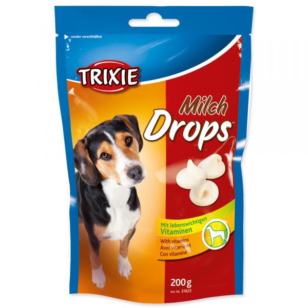 Dropsy pro psy trixie mléčné 200g