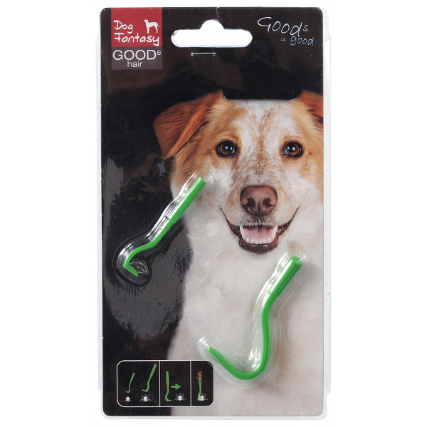 Háček na klíšťata Dog Fantasy 2 velikosti