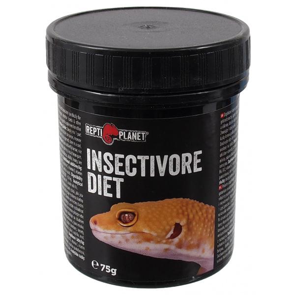 Doplňkové krmivo Repti Planet Insectivore diet 75g