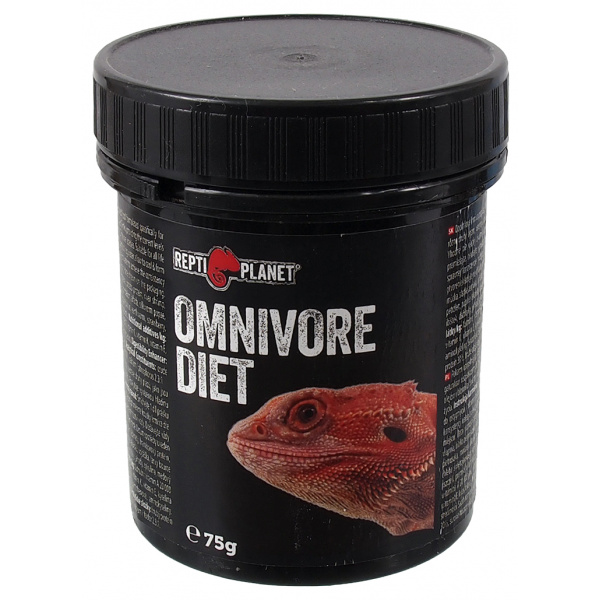 Doplňkové krmivo Repti Planet Omnivore diet 75g
