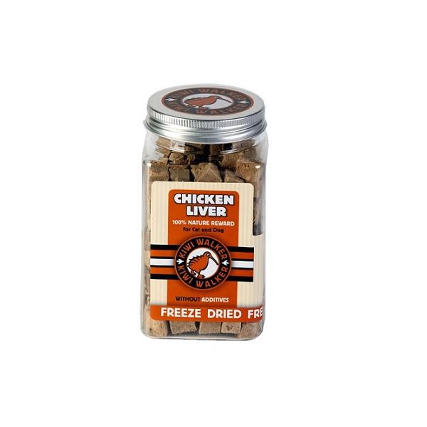 Pamlsky kiwi walker snack mrazem sušená kuřecí játra 105g