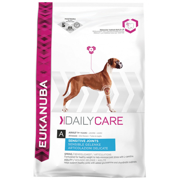Eukanuba daily care sensitive joints 2x12,5kg