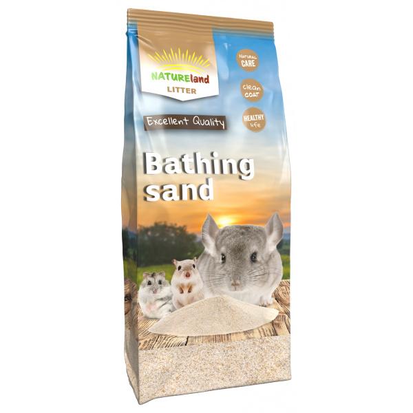 Koupací písek nature land pro hlodavce 1kg