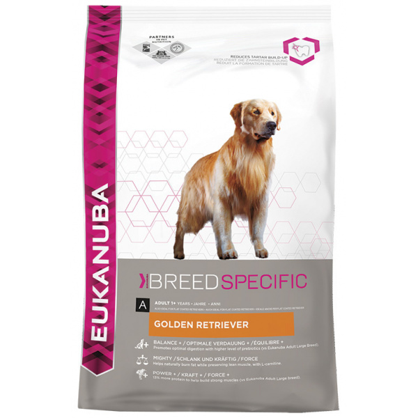 Eukanuba golden retriever 2x12kg