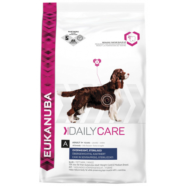 Eukanuba daily care weight care 2x12,5kg