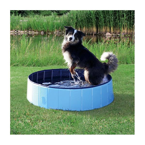 Bazén pro psy 120x30cm světle modrý