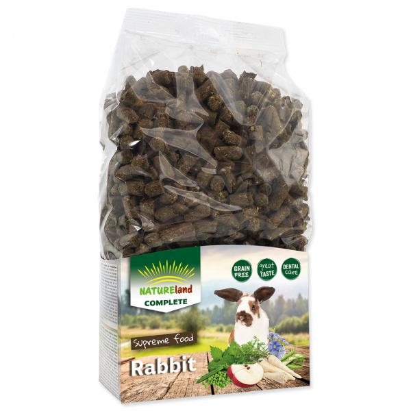 Krmivo nature land complete granule pro zakrslé králíky 900g